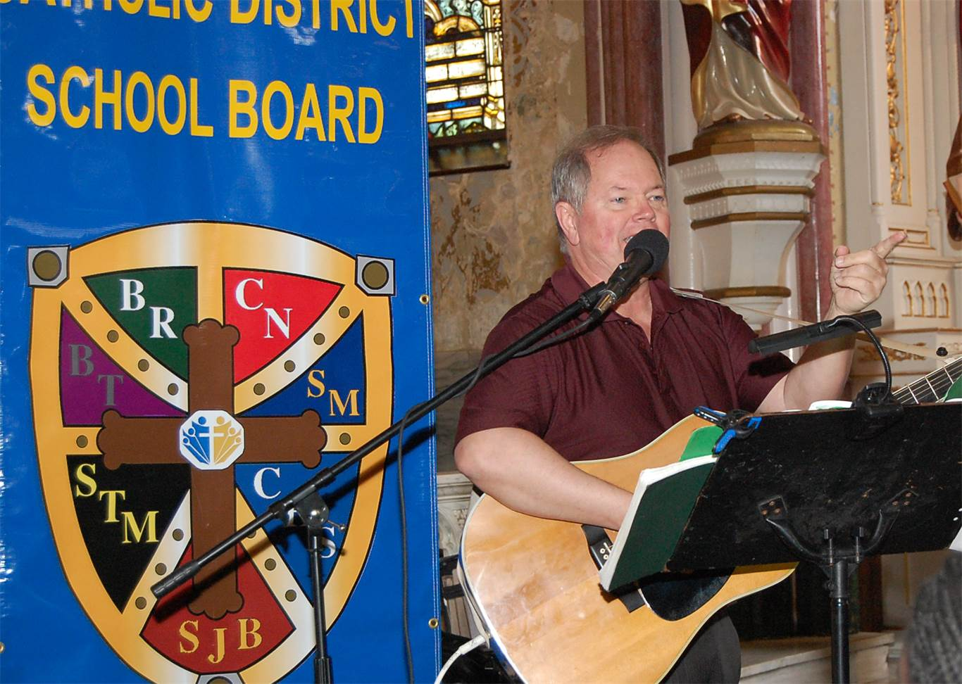 Music was provided by Joe Allain.