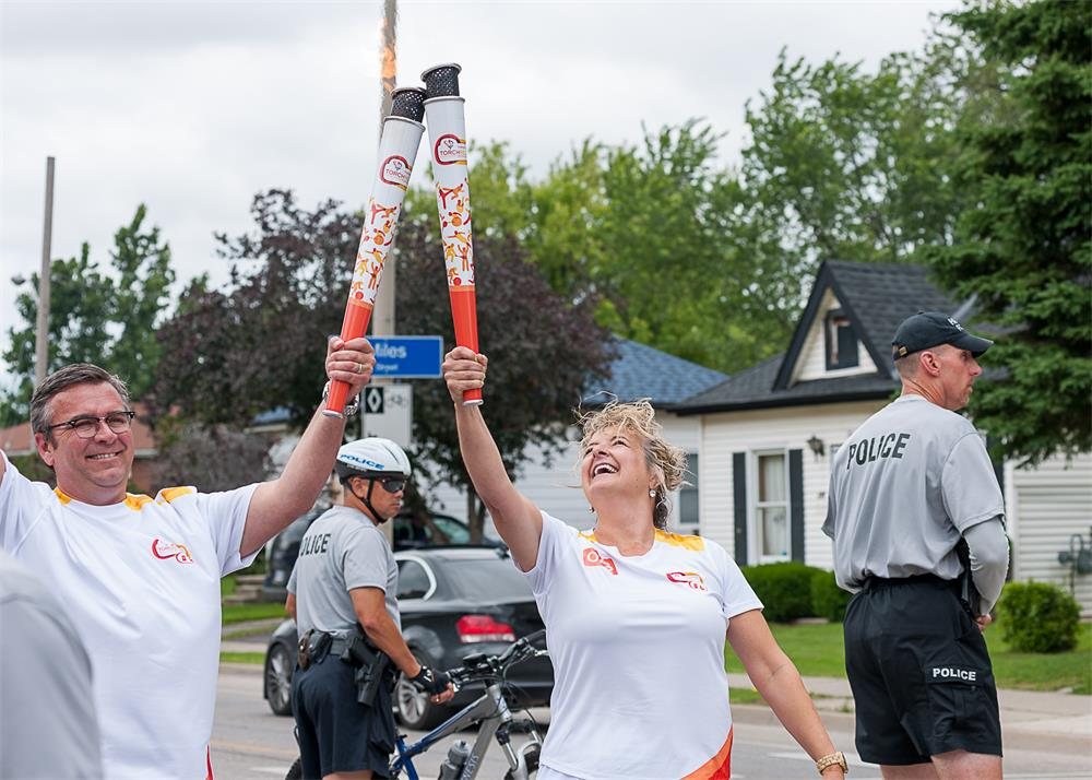 Banner Image for Brébeuf's Susan Monachino carries the torch
