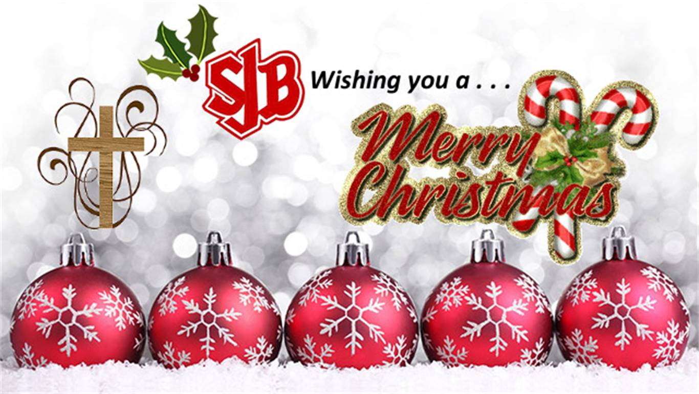 Banner Image for SJB Wishing You A Merry Christmas...